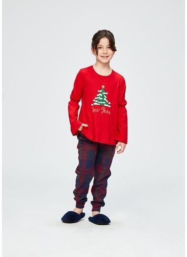 Dagi Pijama Takım Kırmızı